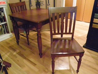 Square Dining Table 36x36 And 2 Chairs